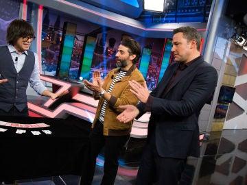 Luis Piedrahita sorprende a Ben Affleck y Oscar Isaac en 'El Hormiguero 3.0'