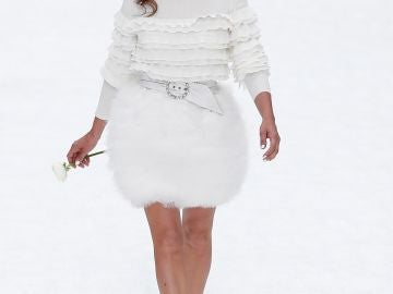 Penélope Cruz en el desfile de Chanel