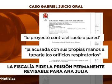 El juez abre el juicio oral contra Ana Julia Quezada por el crimen del pequeño Gabriel