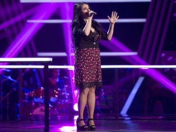 VÍDEO-LA VOZ: Lydia Ruiz canta 'Time after time' en los Asaltos de 'La Voz'