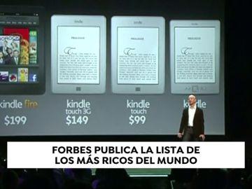 Jeff Bezos, fundador de Amazon, repite por segundo año consecutivo como el más rico del mundo