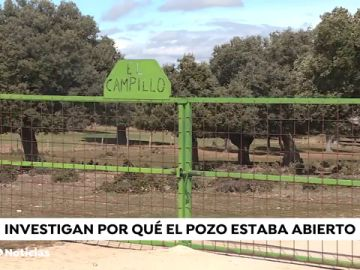 REEMPLAZO Rescatan a un niño tras caer a un pozo en Salamanca