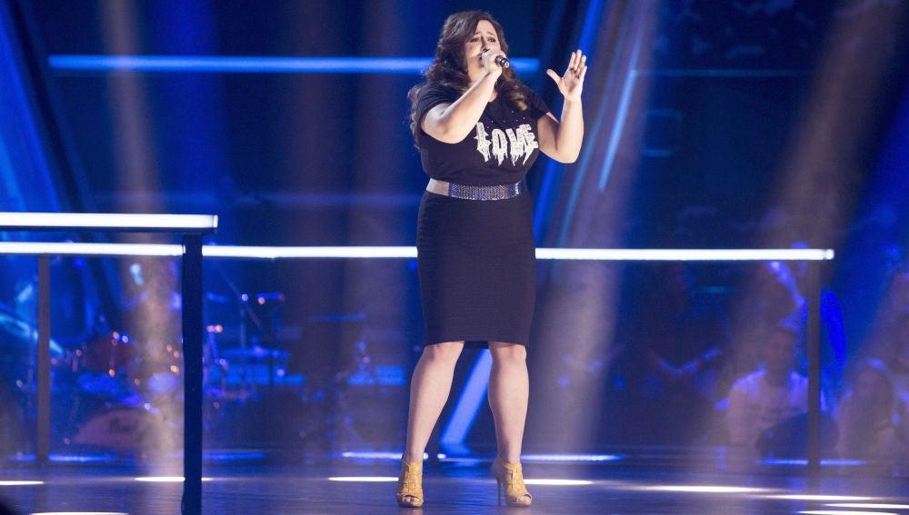 VÍDEO: Naiara Hernández canta 'She wolf' en los Asaltos de 'La Voz'