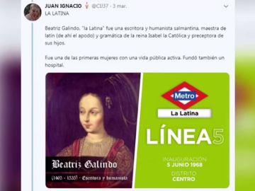 ¿Quiénes fueron los personajes que dan nombre a las paradas de Metro de Madrid?