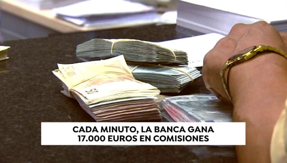 Los bancos solo podrán cobrar mensualmente al cliente una comisión máxima, única y conjunta de un máximo de tres euros