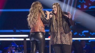 VÍDEO: Miriam Rodríguez canta 'No te pude retener' con Adriana Rosa