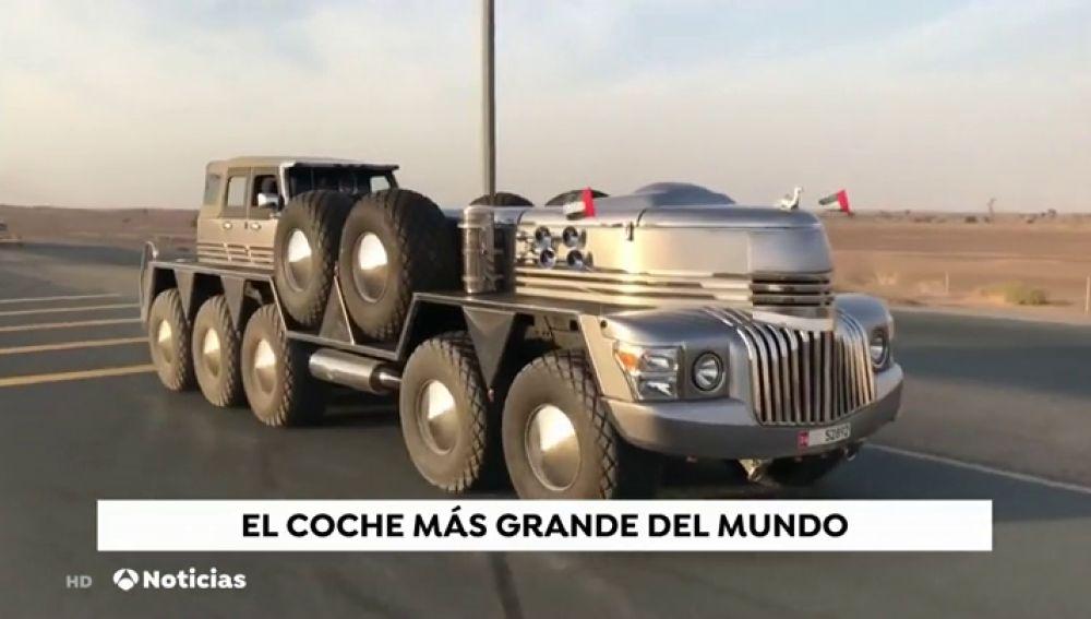 Las imágenes del nuevo 'juguete' de 10 ruedas diseñado exclusivamente para el jeque de Dubai que ha dado la vuelta al mundo
