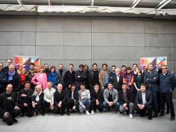 Foto de familia de la Sección Oficial del Festival de Málaga