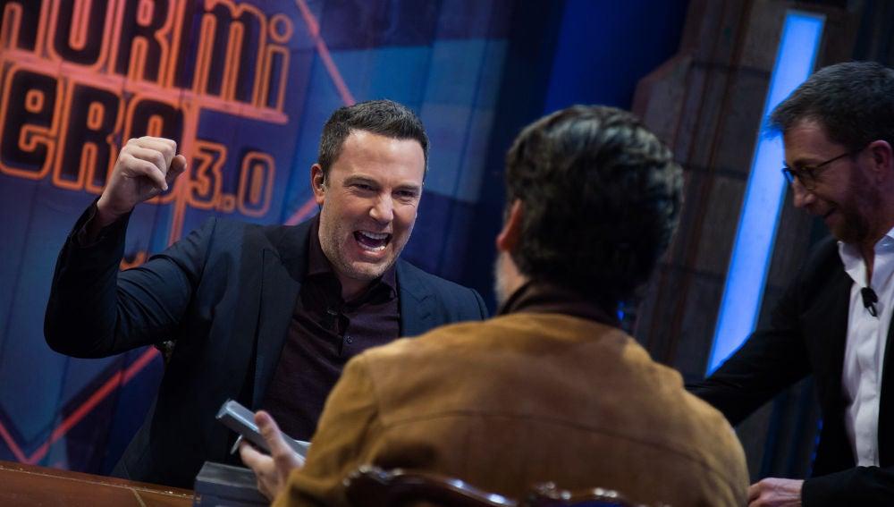 Mentiras y risas, protagonistas del divertido juego de Ben Affleck y Oscar Isaac en 'El Hormiguero 3.0'