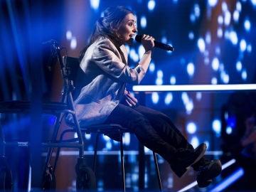 VÍDEO-LA VOZ:Miriam Fernández canta 'Sin miedo a nada' en los Asaltos de 'La Voz'