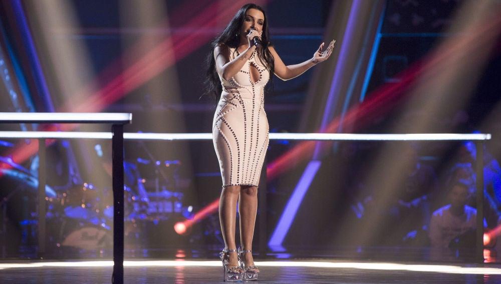 VÍDEO-LA VOZ: Elena Vargas canta 'Dígale' en los Asaltos de 'La Voz'