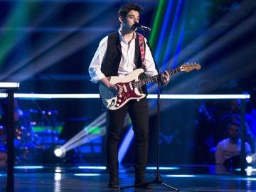 VÍDEO-LA VOZ:Alex Palomo canta 'Tuyo' en los Asaltos de 'La Voz'