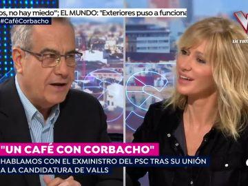 Susanna Griso y Celestino Corbacho.