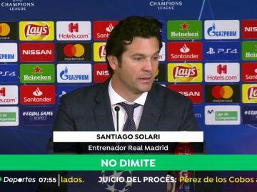"""Solari, tras la eliminación ante el Ajax: """"Claro que hemos echado de menos a Sergio Ramos"""""""