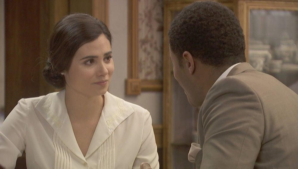 La bonita declaración de intenciones de Roberto a María en su nuevo hogar