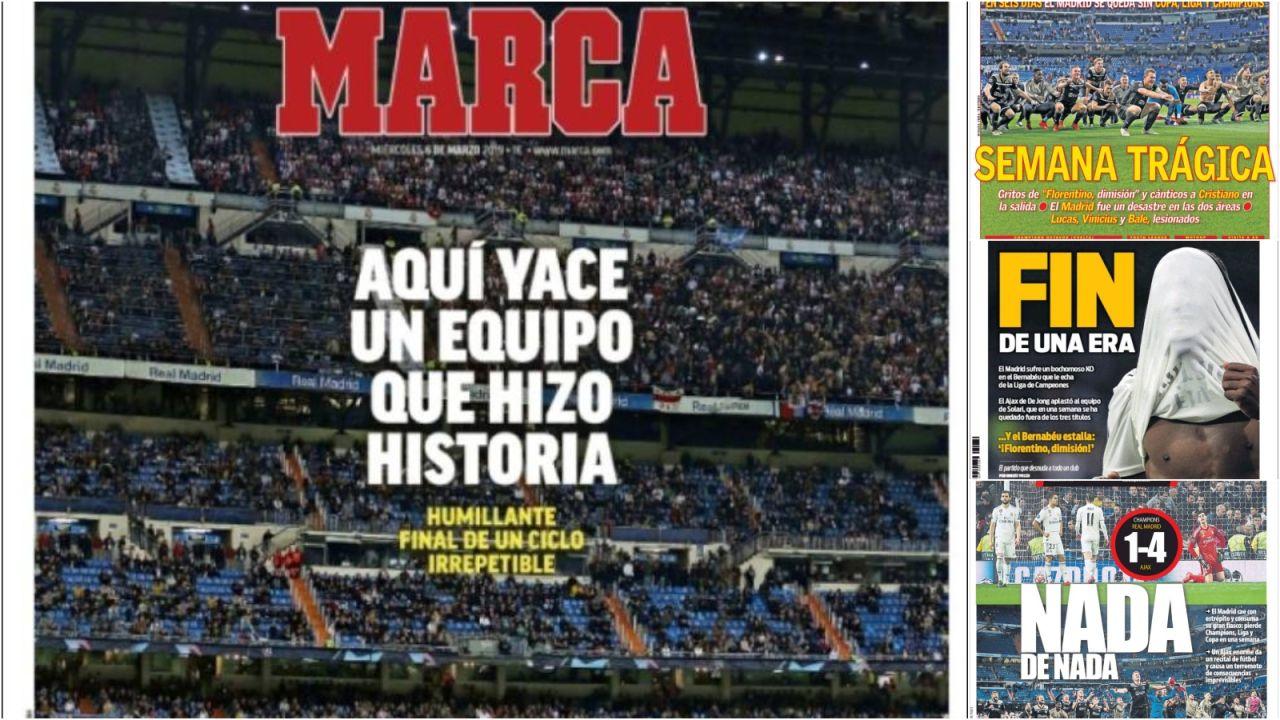 El Batacazo Histórico Del Real Madrid Ante El Ajax Copa