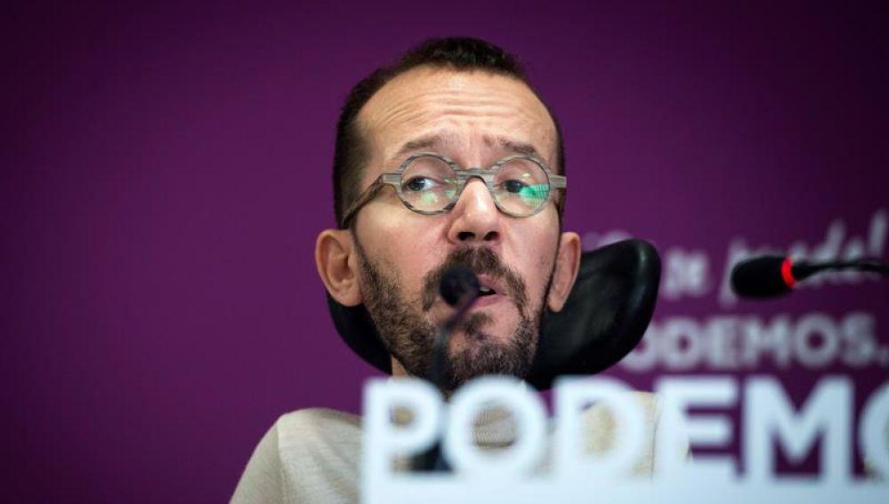 Pablo Echenique estará mañana en Ciudad Real