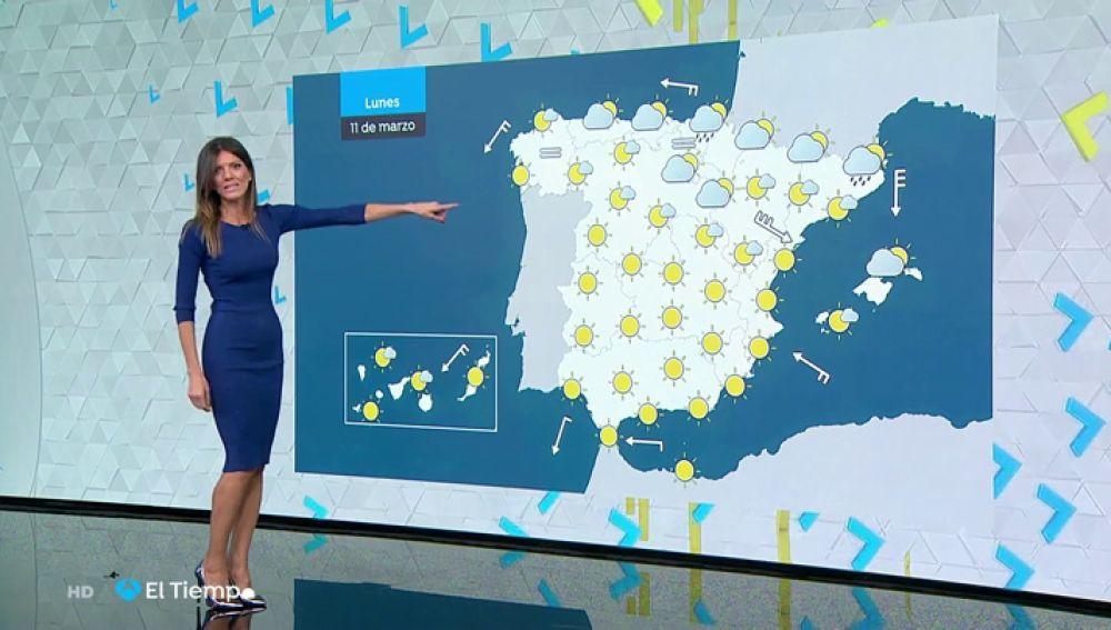 Las temperaturas subirán aún más el lunes en Andalucía y bajarán en el nordeste