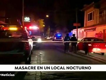 Al menos 15 muertos en un tiroteo en un bar nocturno de México