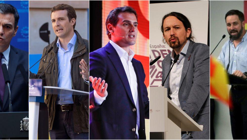 Candidatos de las elecciones generales del 28A