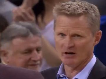 Steve Kerr, entrenador de los Golden State Warriors