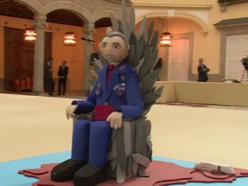 Felipe VI en 'Juego de tronos'