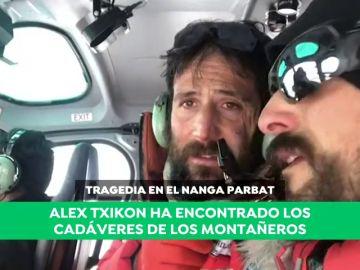 Alex Txikon vuelve al K2 tras localizar los cuerpos sin vida de los montañeros desaparecidos