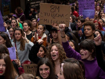 Manifestación del 8M en Madrid