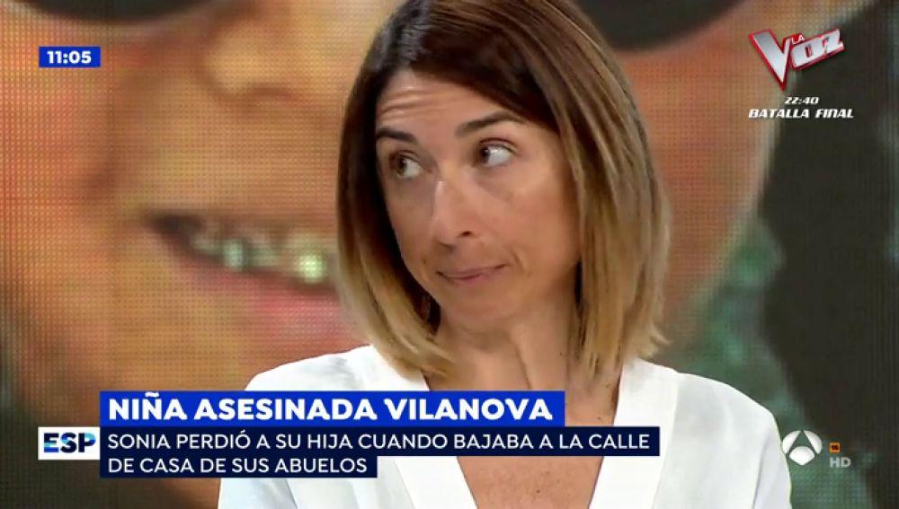 La madre de la niña asesinada en Vilanova