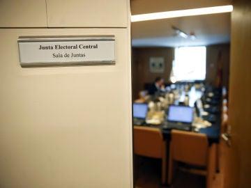 Imagen de la Sala de Juntas, de la Junta Electoral Central (JEC)