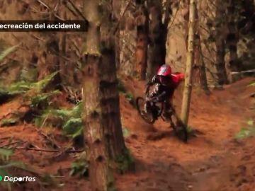 Trágica muerte de un joven rider en pleno Descenso de Sant Andreu de la Barca