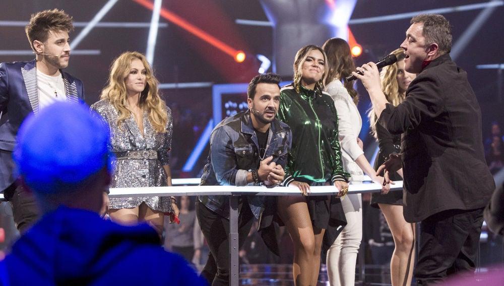Andrés Balado canta 'Purple rain' en su despedida en la Batalla Final de 'La Voz'
