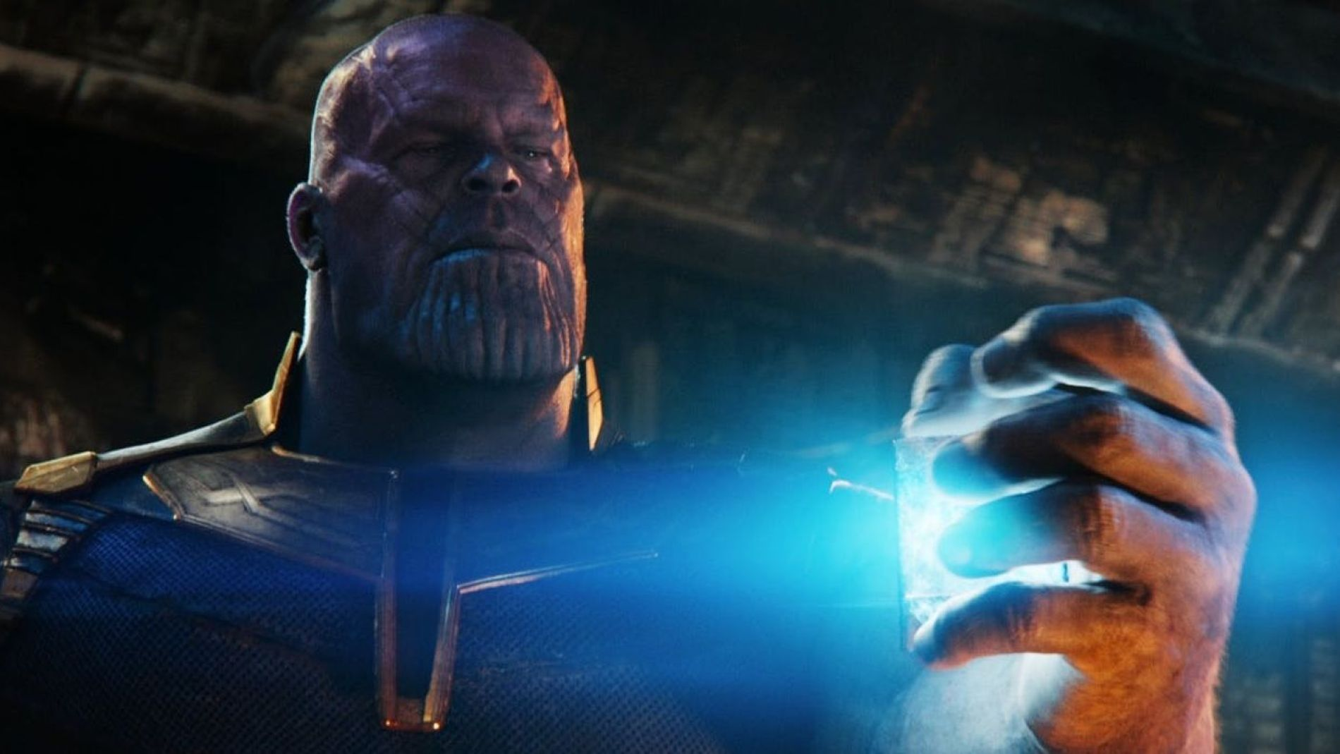Thanos con el Teseracto en 'Infinity War'