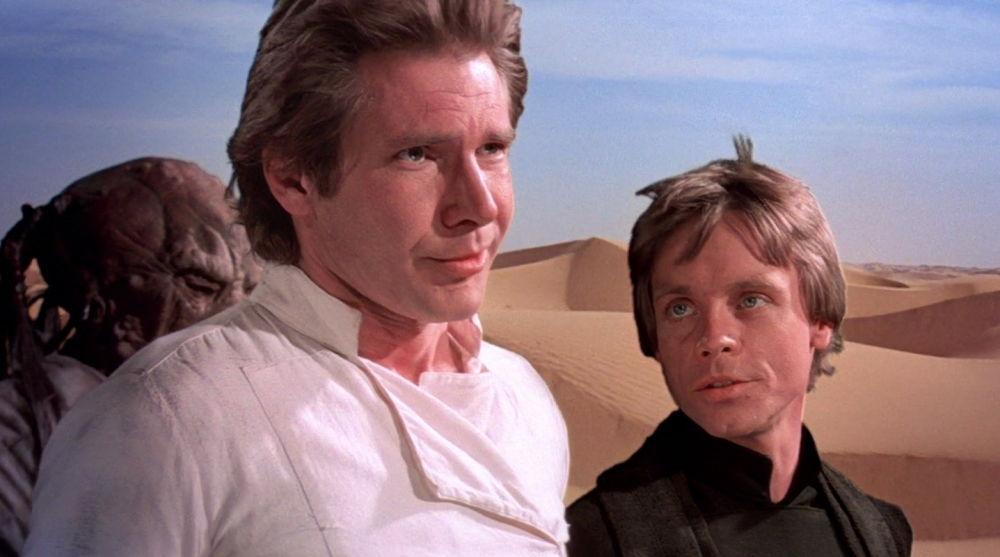 Han Solo y Luke Skywalker en 'Star Wars'