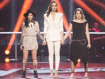 Vídeo: Paulina Rubio, orgullosa por la actuación de Viki Lafuente y Giosy en la Batalla Final
