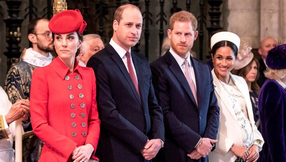 Los Duques de Middleton y los Duques de Sussex