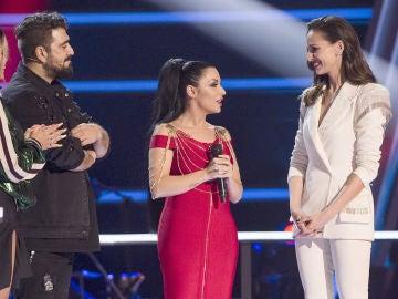 """Elena Vargas se despide de 'La Voz': """"Aquí no acaba la vida"""""""