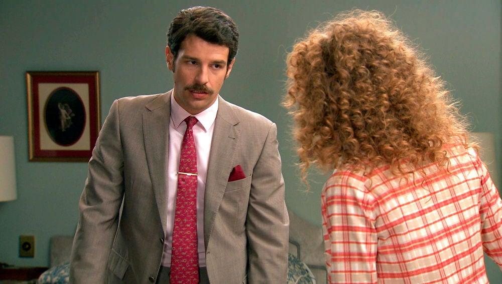 """Carlos a Natalia: """"No voy a tolerar que Gabriel te siga haciendo daño"""""""