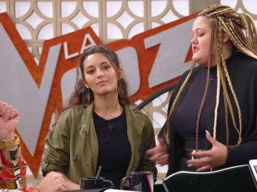 Vídeo: Susana Montaña se siente insegura en los ensayos ante Adriana Rosa
