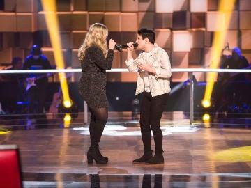 VÍDEO: Rolita y Alex Palomo cantan 'Maggie May' en la Batalla de 'La Voz'