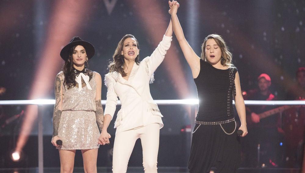 Vídeo: Paulina Rubio decide que Viki Lafuente pase a los Directos