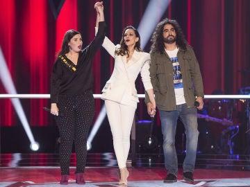 Pablo López decide que Auba pase a los Directos de 'La Voz'