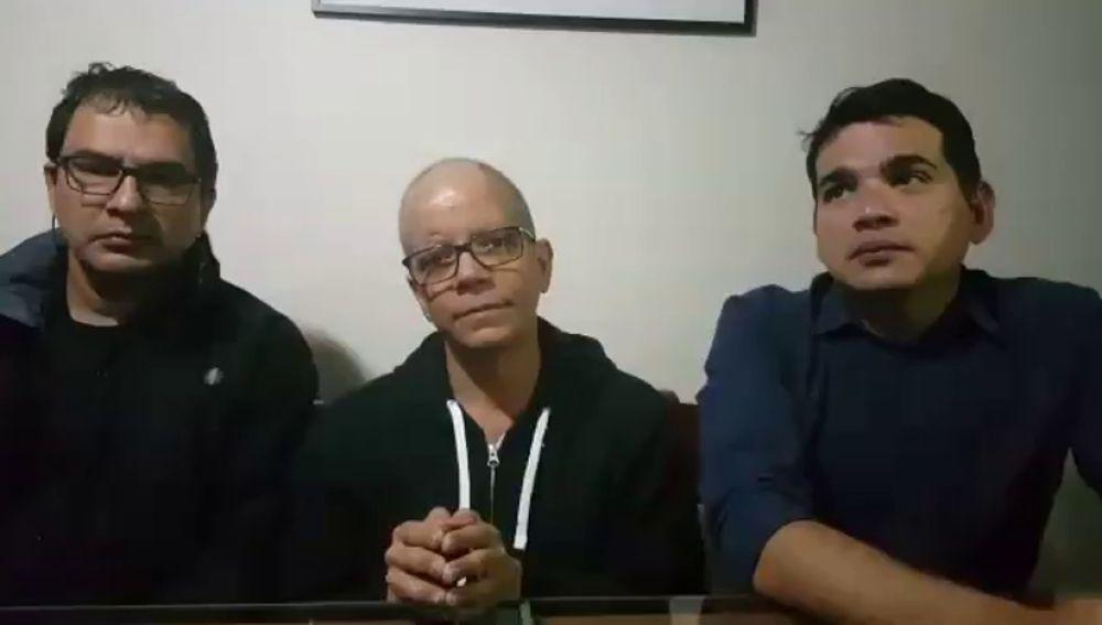La mujer del periodista hispanovenezolano detenido por el Sebin convoca a la gente para pedir la libertad de Luis Carlos Díaz