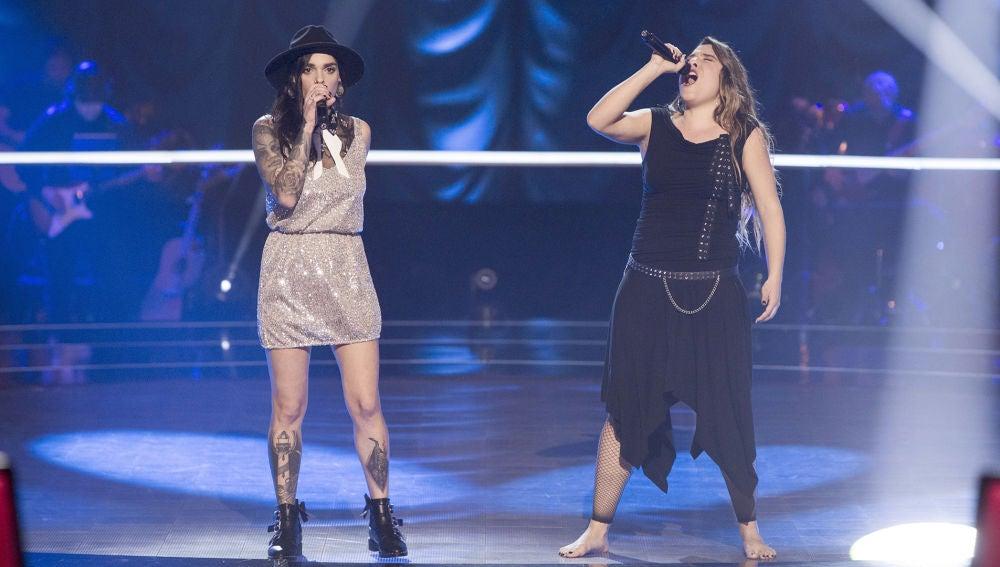 Vídeo: Viki Lafuente y Giosy cantan 'The show must go on' en la Batalla