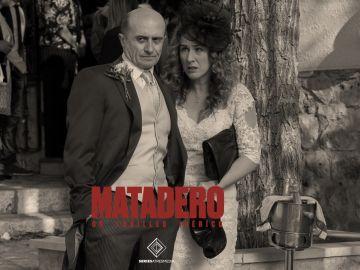 Alfonso y Almudena en el final de Matadero