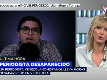 """Habla el padre del periodista español desaparecido en Venezuela: """"No creo que el Gobierno se vaya a meter en un problemón"""""""