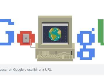 Doodle de Google por el 30 aniversario de internet