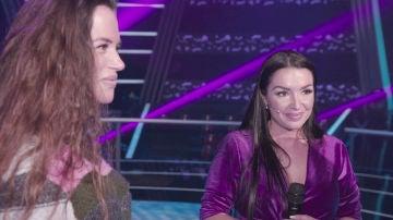 Lorena Fernández y Elena Vargas, dos caracteres diferentes que compiten desde los ensayos de 'La Voz'