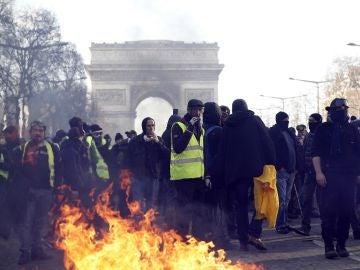 Nueva jornada de protestas de los chalecos amarillos en Francia
