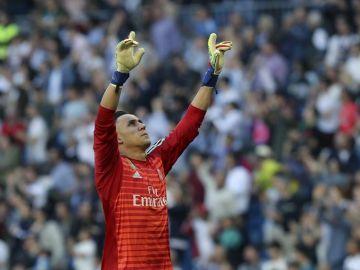 El portero del Real Madrid, Keylor Navas.